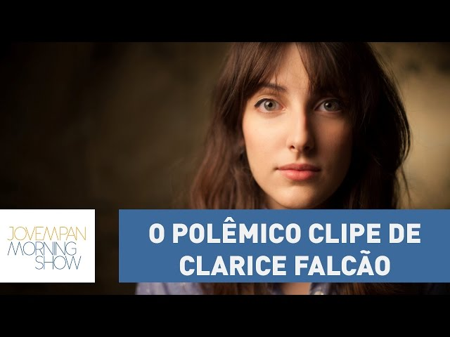 Clipe de Clarice Falcão repleto de nudez é removido do YouTube | Morning Show