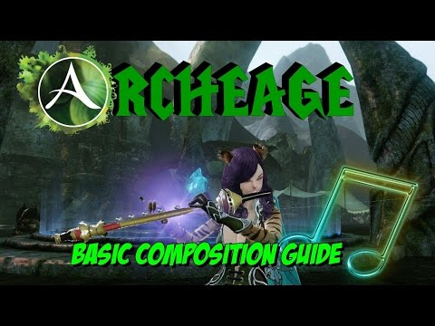 Archeage : Basic Music Composition Guide