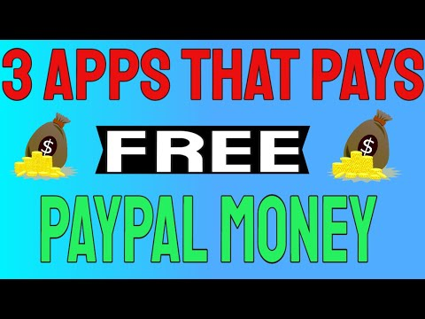 3 Apps That Pays Free Paypal Money The Same Day!!! 🤑 (Earn Paypal Money)