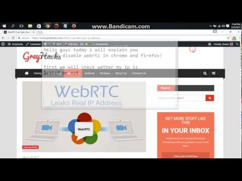 Disabling WebRTC on Chrome and Firefox The right way!