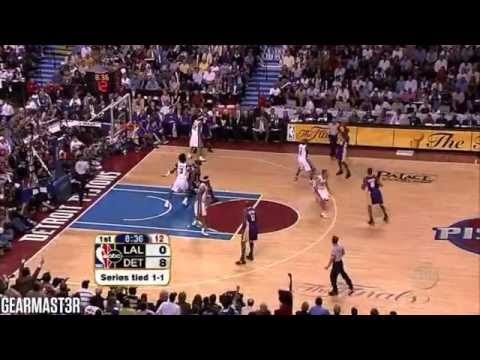 2004 NBA Finals - Los Angeles vs Detroit - Game 3 Best Plays
