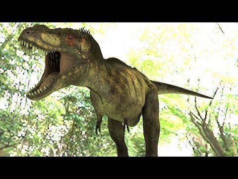 Dinosaur Visual Effects - Tyrannosaurus / Brachiosaurus 3D CGI Animation Jurassic Dinos