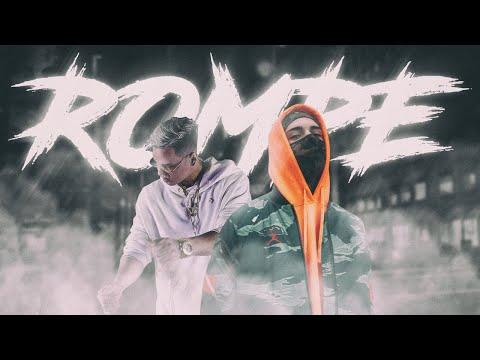 ECKO - ROMPE (feat. Papichamp x DJ Tao) | Lyric Video