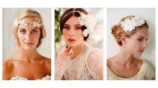 Весільні зачіски з аксесуарами
