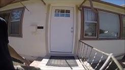 DIY front door install. Home Depot