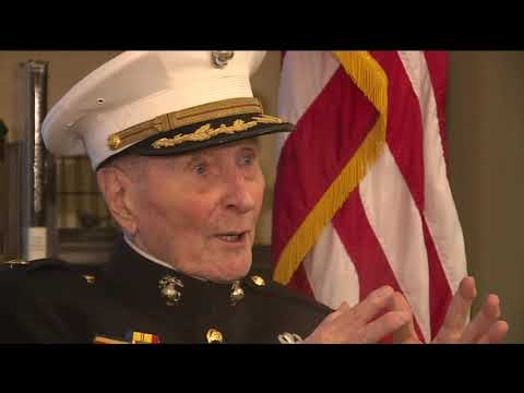 104-Year-Old Marine Corps Veteran Collecting Valentine`s Day Cards