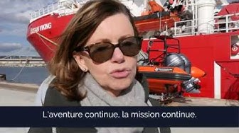 [TÉMOIGNAGE] Des bénévoles visitent l'#OceanViking - SOS MEDITERRANEE
