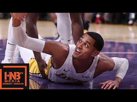Los Angeles Lakers vs Denver Nuggets 1st Half Highlights / Week 5 / 2017 NBA Season