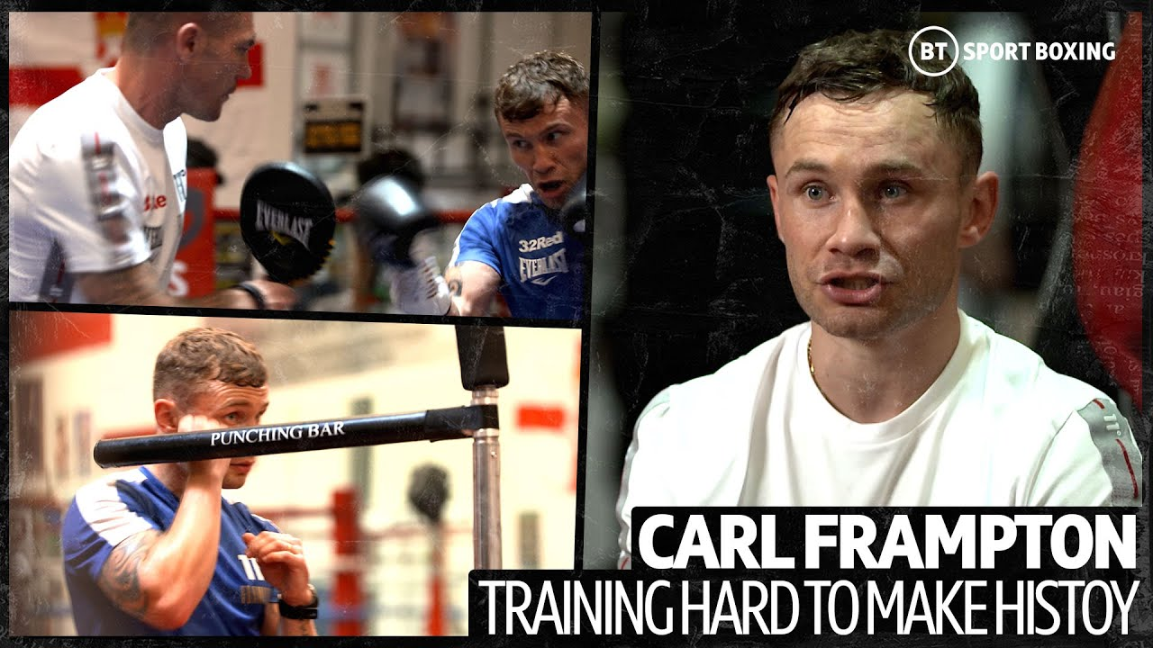 This is how Carl Frampton has been training to become a three-weight world champion