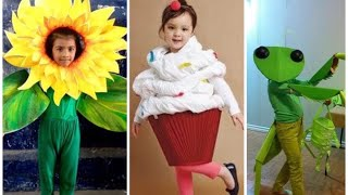 125 + Cute And Unique Fancy Dress Ideas For Kids.......