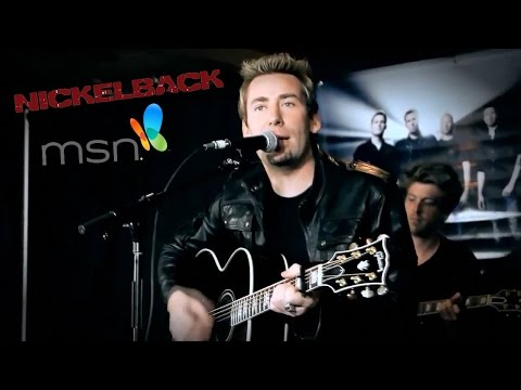 Nickelback on MSN ( Lullaby Acoustic and another )