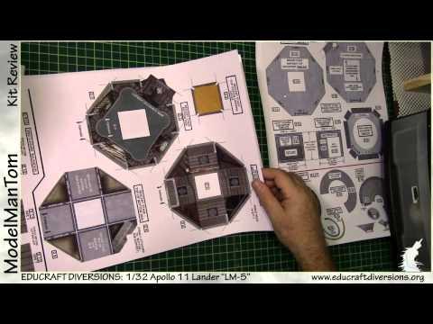 Kit Review: Educraft Diversions 1/32 LM-5 Lander