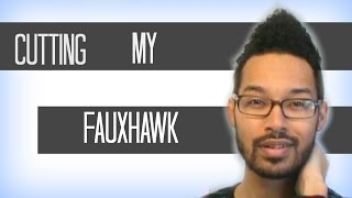 How to Cut Your Curly Hair in a Faux Hawk