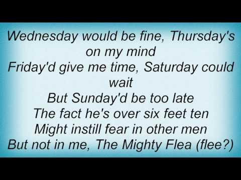 Sting - Seven Days Lyrics