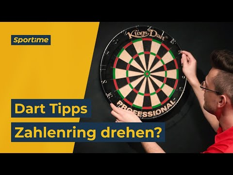 "Video: Kings Dart Dartscheibe ""Professional HD"""