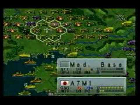 Iron Storm (Last scenario with Japanese Army) -Saturn-
