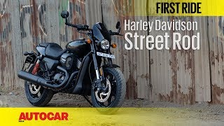 Harley Davidson Street Rod | First Ride | Autocar India
