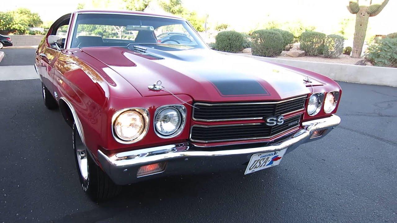 1970 chevrolet chevelle ss 454 ls6 4spd for sale joey 480 205 5880 jsc motorcars cascio motors youtube