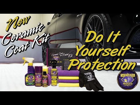 Introducing Wizards Ceramic Coat Kit - Ultimate Protection