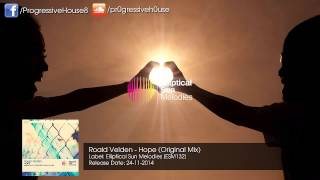 Roald Velden - Hope (Original Mix)