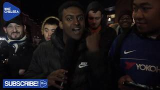 CHELSEA FANS REACT TO DRAWING TOTTENHAM IN THE CARABAO CUP SEMI FINAL