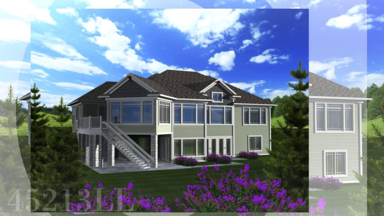Walkout Basement House Plans | Ahmann Design, Inc.