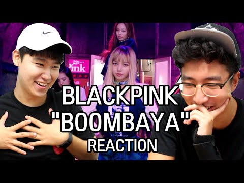 [ENG] BLACK PINK - 'BOOMBAYAH' M/V KOREAN DUDES REACTION