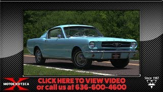 1965 Ford Mustang 2+2 || For Sale