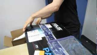 ASUS PA238Q Pro Art Series 23 1080p Pre-Calibrated LCD Unboxing & First Look Linus Tech Tips