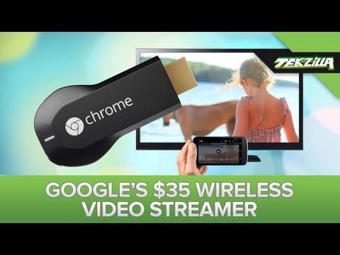 Google's New Nexus 7 and Chromecast Streaming Dongle