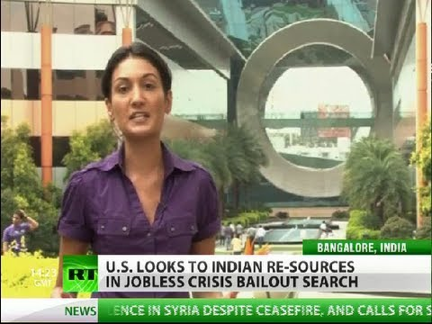 Outsourced: India bails out US from jobless crisis