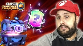 I WON ONE MORE LETTER in a CHEST MAGICIAN of LEGENDARY SUPER CLASH ROYALE