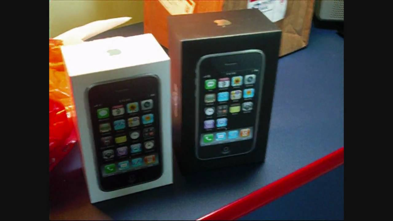 Iphone 3G 3GS 4 Box Unboxing