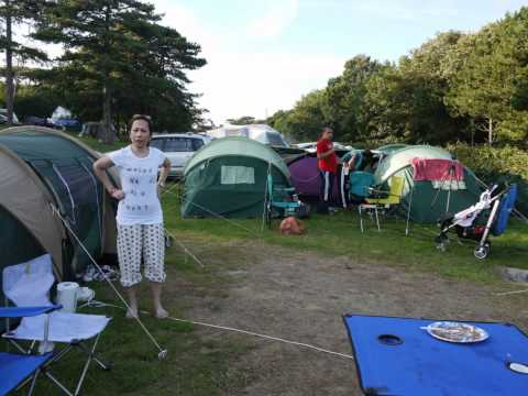 durdle door camping.wmv