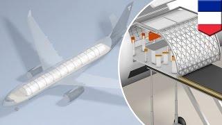 Fly Transpose: Airbus unveils new concept that allows custom modular plane interiors - TomoNews