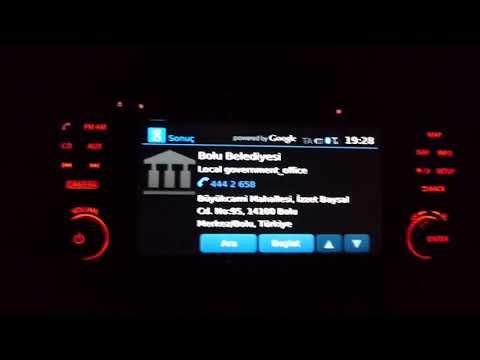 "Nissan Navigasyon ""Google Online Search"" Detaylı Kullanımı"