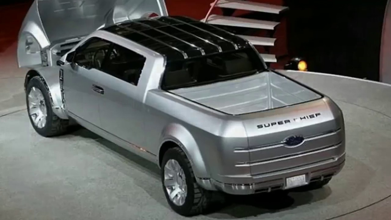2017 Ford Super Chief And Another Concept Pickups Youtube