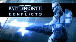 Star Wars Battlefront 2 Conflicts - The Siege of Kamino (Episode 1) Clone Wars