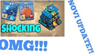 Clash Of Clans #1|NOVI UPDATE TH12 I ELECTRO DRAGON !!