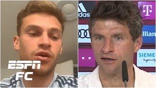 Bayern Munich's Thomas Muller And Joshua Kimmich Send Powerful Football Vs. Racism Message   Espn Fc