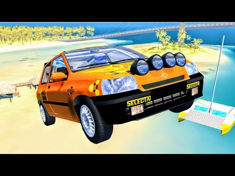 Epic High Speed Jumps – Best of Compilation #1 - BeamNG Drive