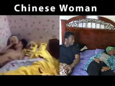 Chinese woman vs black woman