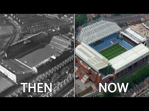 Sky Bet Championship Stadiums Then & Now
