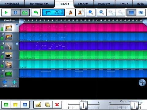 MUSIC STUDIO - Updated June 2018 - Quick Start for the FULL iPad Version