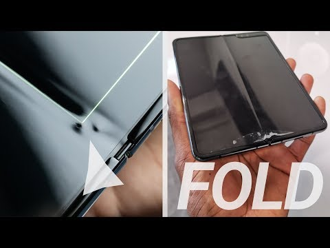 Samsung's $2000 Galaxy Fold Is A Disaster