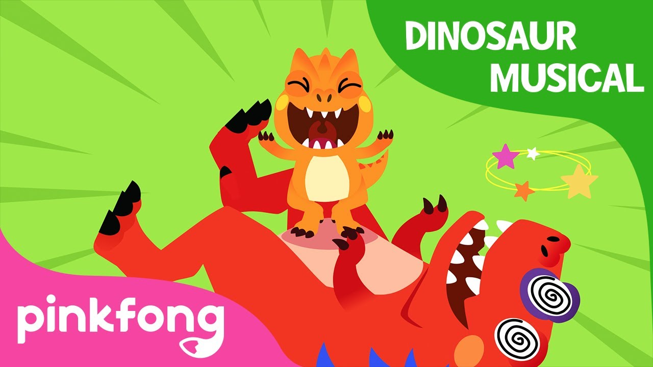 I'm an Allosaurus | Dinosaur Musical | Dinosaur Story | Pinkfong Songs for Children