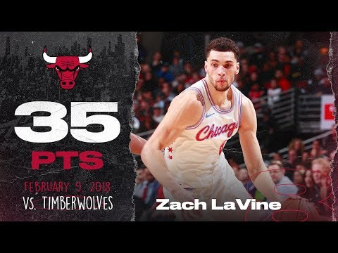 Zach LaVine goes off against Minnesota 35 points (15 in the 4th) 2.9.18