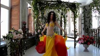 Демонстрационное видео. Танец с платком (постановка для начинающих).