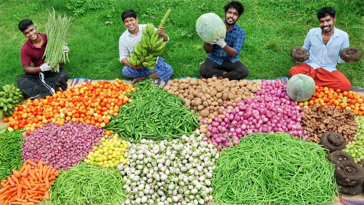 500 Kg VEGETABLE RECIPE | 500 KG പച്ചക്കറി വാങ്ങി നാട്ടുകാർക്ക് കൊടുത്തു