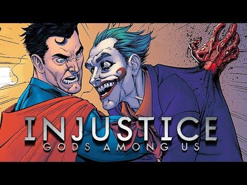 Injustice Gods Among Us Gameplay German - Superman killt den Joker